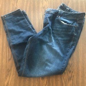 Skinny jeans, Dark Wash sz 14